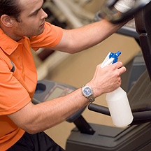 Cleanliness in a Gym Newington Connecticut Personal Trainer