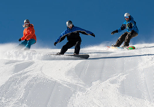 Skiing or Snowboarding to Complement Your Fitness Routine