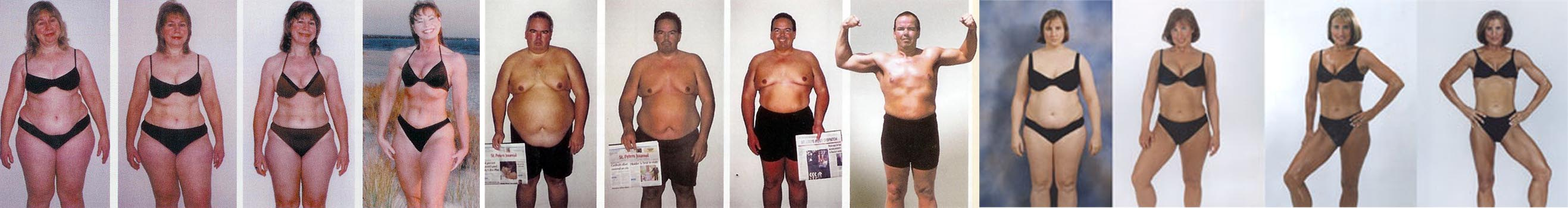 Multiple transformations in Plainville CT Personal Training